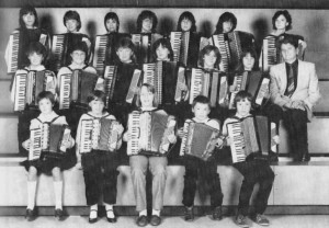 Akkordeongruppe 1984